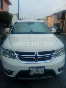 Dodge Journey R-T 3.6L NAV DVD usado (2013) color Blanco Perla precio $210,000