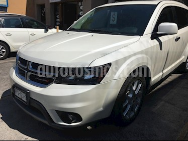 Dodge Journey R-T 3.6L NAV DVD usado (2014) color Blanco Perla precio $275,000