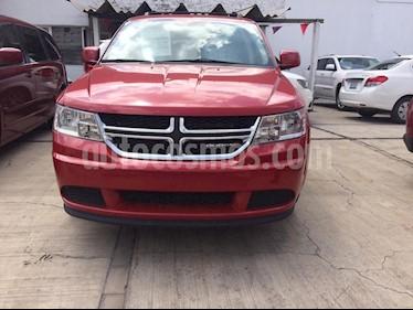 Foto venta Auto usado Dodge Journey SE 7 Pasajeros 2.4L (2016) color Rojo Adrenalina precio $250,000