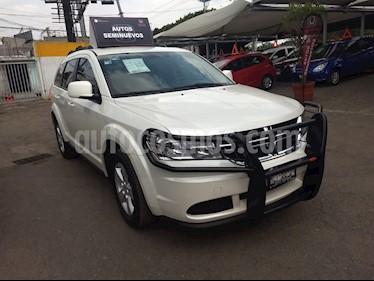 Foto venta Auto usado Dodge Journey SE 7 Pasajeros 2.4L (2017) color Blanco Perla precio $298,000