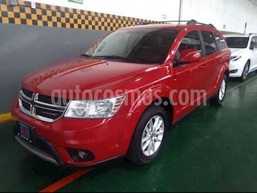 Foto venta Auto usado Dodge Journey SXT 2.4L 5 Pasajeros Plus (2015) color Rojo precio $210,000