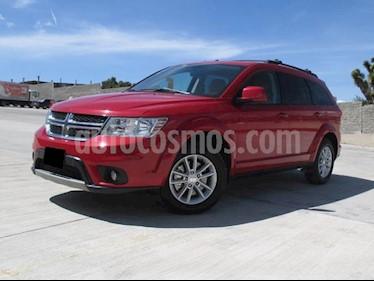 Dodge Journey SXT 2.4L 5 Pasajeros usado (2015) color Rojo precio $252,000