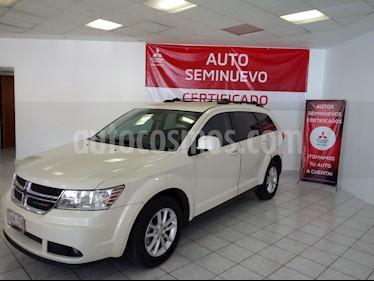 Foto venta Auto usado Dodge Journey SXT 2.4L 5 Pasajeros (2013) color Blanco Perla precio $179,000