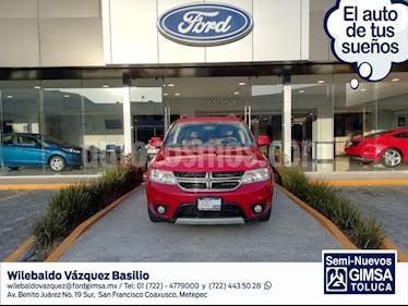 Foto venta Auto usado Dodge Journey SXT 2.4L 5 Pasajeros (2015) color Rojo precio $229,000