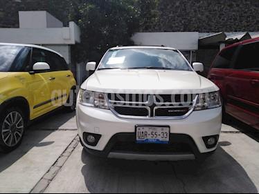Foto venta Auto usado Dodge Journey SXT 2.4L 7 Pasajeros Lujo (2016) color Blanco Perla precio $310,000