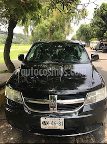 Foto venta Auto usado Dodge Journey SXT 2.4L 7 Pasajeros Lujo (2009) color Negro precio $130,000