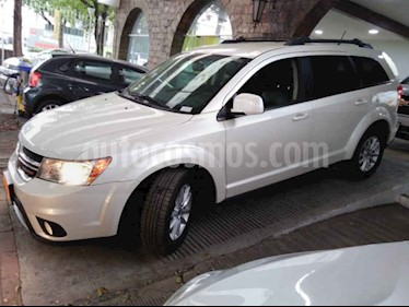 Foto venta Auto usado Dodge Journey SXT 2.4L 7 Pasajeros (2018) color Blanco precio $362,900