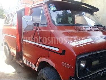 Dodge ram van transpote publico usado (1975) color Rojo precio u$s1.900