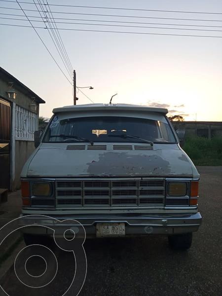 Dodge ram van transpote publico usado (1983) color Blanco precio u$s3.000