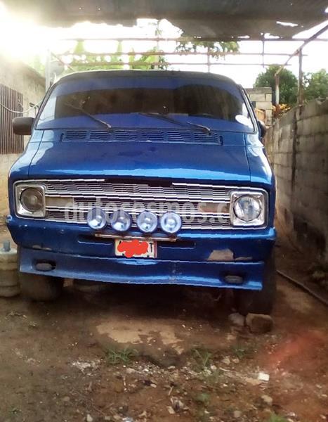 Dodge ram van transpote publico usado (1977) color Azul precio u$s2.500