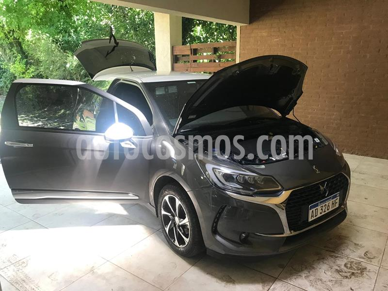 DS 3 Puretech So Chic Aut usado (2018) color Gris Shark precio u$s18.000