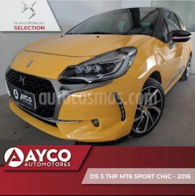 Foto DS 3 THP Sport Chic usado (2016) color Amarillo
