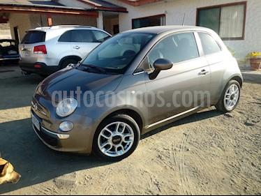 Foto FIAT 500 1.2L  usado (2013) color Gris precio $5.500.000