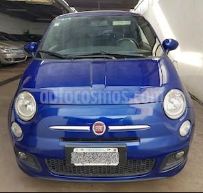 Foto venta Auto usado Fiat 500 1.4 (2011) color Azul precio $300.000