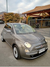 FIAT 500 1.4L Lounge usado (2014) color Gris Oscuro precio $6.000.000