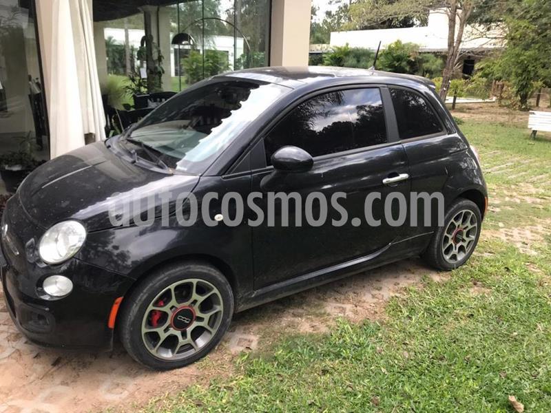 FIAT 500 Sport usado (2013) color Negro precio $930.000