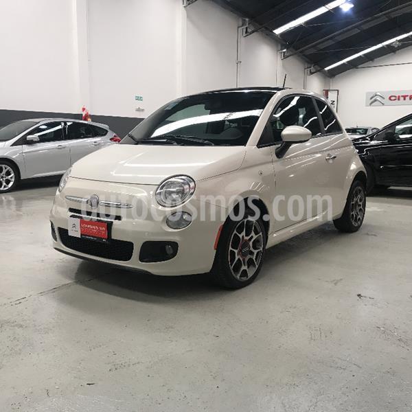 FIAT 500 Sport usado (2012) color Blanco precio $729.500