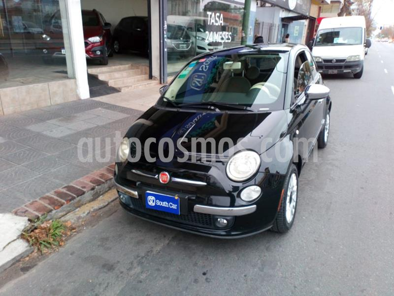 FIAT 500 Lounge Aut usado (2012) color Negro precio $910.000