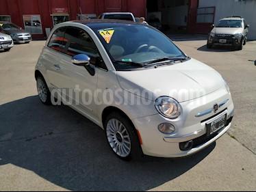 FIAT 500 Lounge Aut usado (2014) color Blanco precio $730.000
