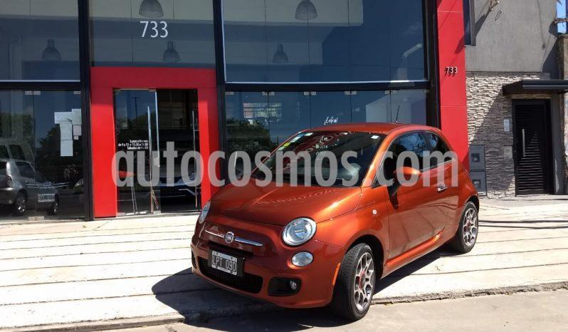 FIAT 500 Sport usado (2012) color Naranja precio $950.000
