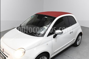 FIAT 500 Cabrio usado (2015) color Blanco precio $860.000