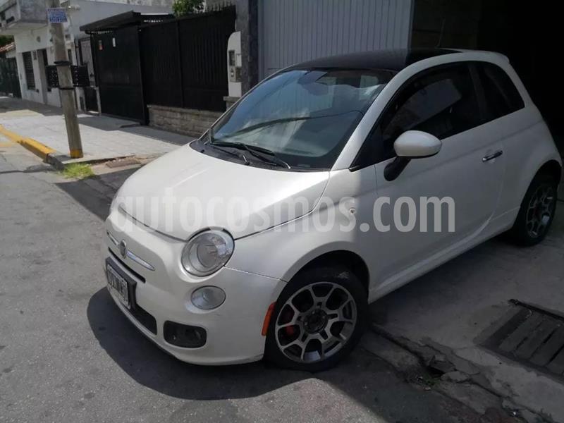 FIAT 500 Sport usado (2014) color Blanco precio $670.000