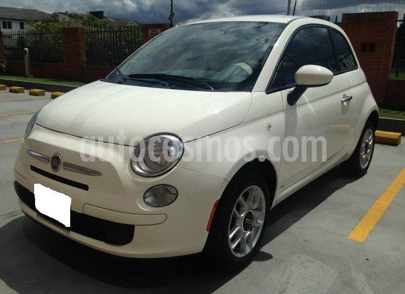 Fiat 500 1.4L Cult usado (2012) color Blanco precio $17.000.000