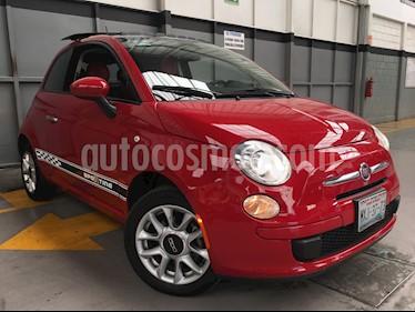 Foto venta Auto usado Fiat 500 Easy Aut (2016) color Rojo Perla precio $230,000