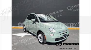 Foto venta Auto Seminuevo Fiat 500 Easy (2016) color Verde precio $195,000