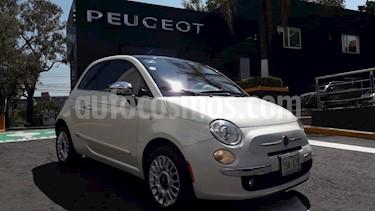 Foto venta Auto usado Fiat 500 Lounge Aut (2014) color Blanco precio $195,000