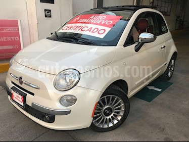 Foto venta Auto usado Fiat 500 Lounge Aut (2017) color Blanco Perla precio $280,000