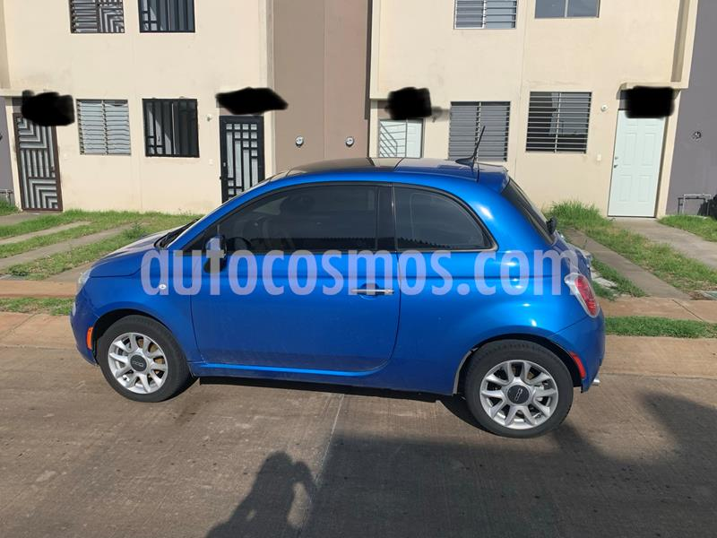 Fiat 500 Easy usado (2016) color Azul precio $170,000