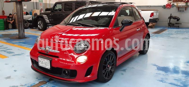 Fiat 500 Abarth usado (2017) color Rojo precio $325,000