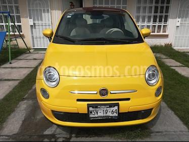 Fiat 500 Trendy usado (2015) color Amarillo precio $143,000