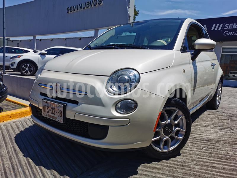 Fiat 500 Trendy usado (2015) color Blanco precio $130,000