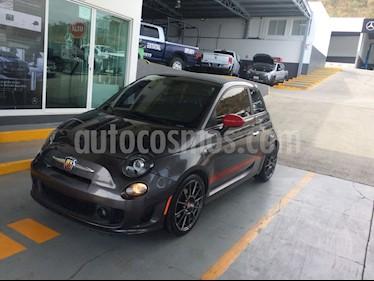 Fiat 500 Abarth Convertible Aut usado (2015) color Gris precio $220,000