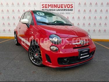 Fiat 500 Abarth usado (2017) color Rojo precio $320,000