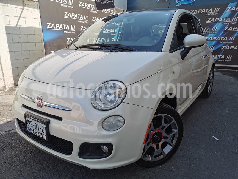 Fiat 500 Sport usado (2012) color Blanco precio $125,000