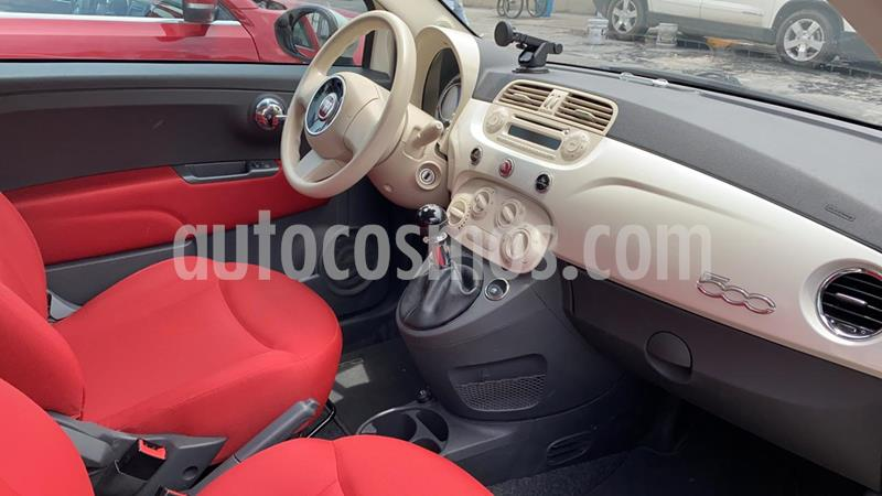 Fiat 500 Pop usado (2013) color Blanco Perla precio $113,000