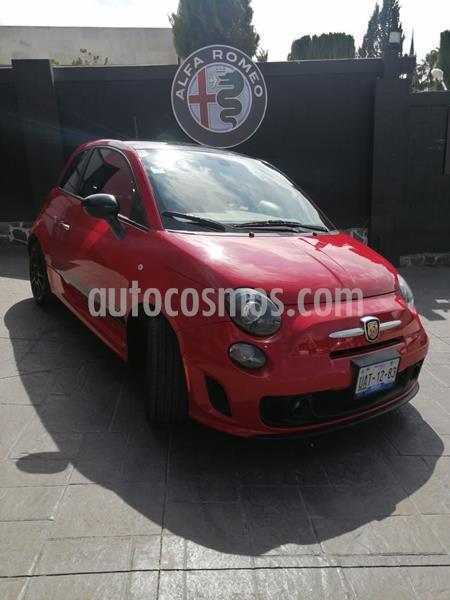 Fiat 500 Abarth usado (2017) color Rojo precio $310,000