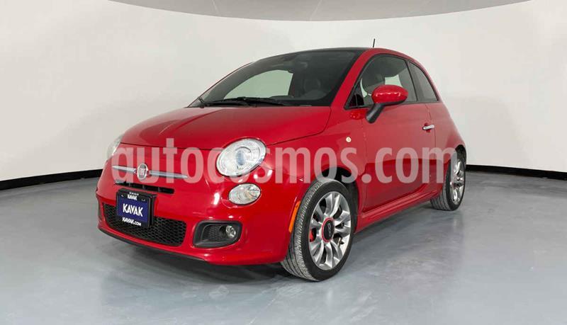 Fiat 500 Sporting Aut usado (2016) color Rojo precio $194,999