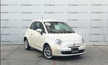 Fiat 500 Pop Aut usado (2013) color Blanco precio $152,000