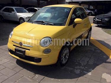 Fiat 500 3p POP 1.4 man usado (2014) color Amarillo precio $125,000