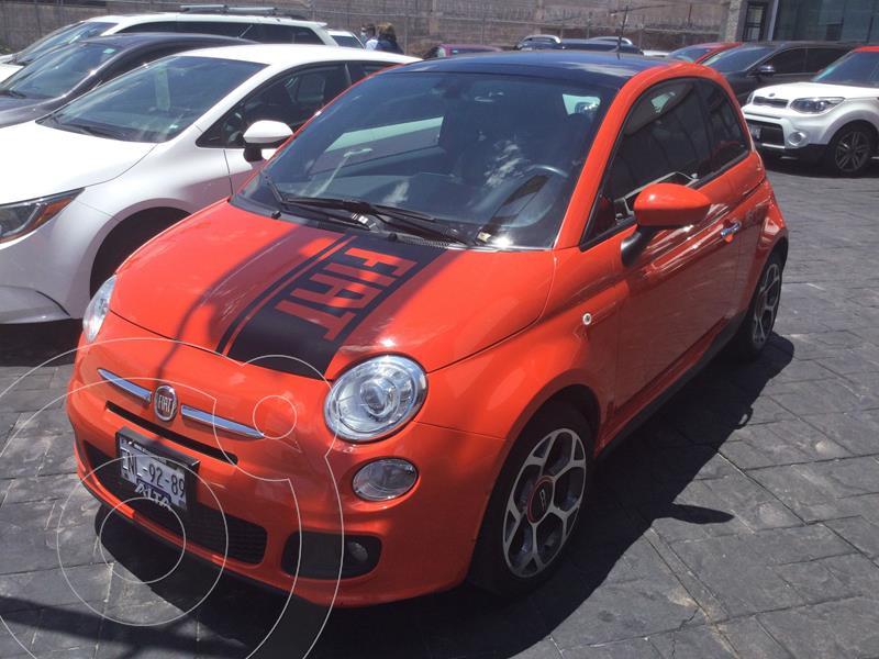 Foto Fiat 500 Sporting usado (2017) color Naranja precio $275,000