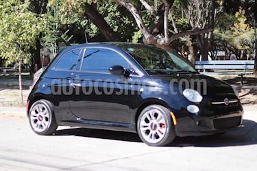 Fiat 500 Sport usado (2015) color Negro Provocador precio $145,000