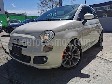 Fiat 500 Sport usado (2014) color Blanco precio $135,000
