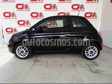 Fiat 500 Sport Aut usado (2015) color Negro precio $139,000