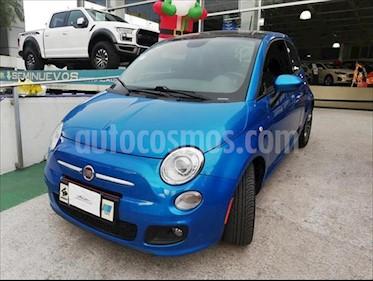 Fiat 500 Sport usado (2015) color Azul Electrico precio $179,900