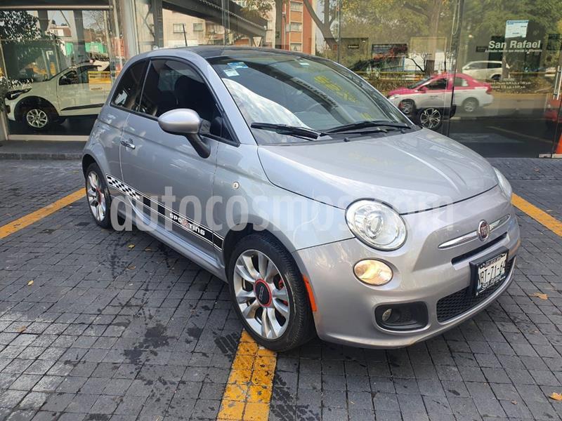 Fiat 500 Sporting usado (2016) color Granito precio $181,000