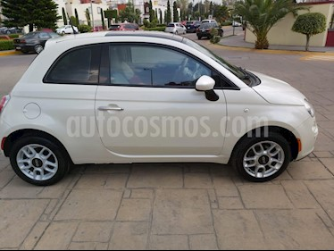 Fiat 500 Trendy Aut usado (2015) color Blanco Perla precio $128,000